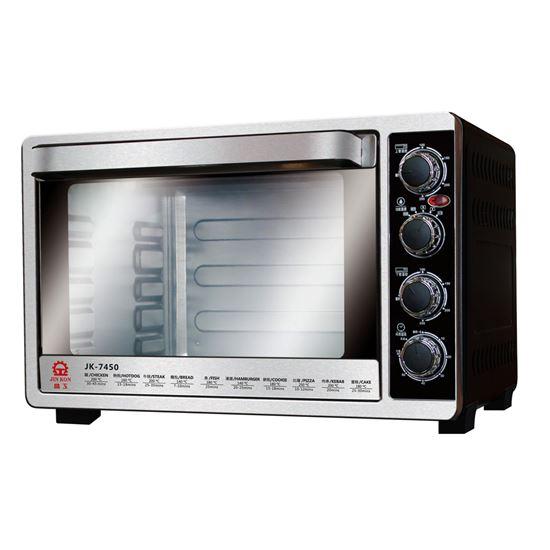 圖片 【結帳享優惠】【晶工牌】45L雙溫控不鏽鋼旋風烤箱 JK-7450