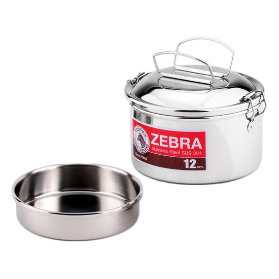 zebra 便當盒 圓型