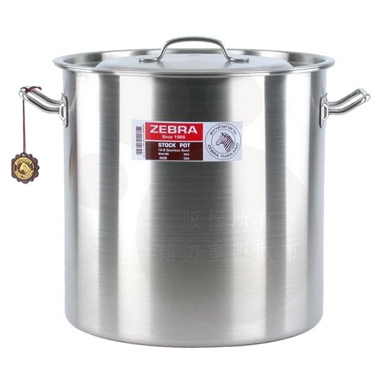 圖片 【ZEBRA斑馬】40公分不鏽鋼深型魯桶171040(40x40cm/50.2L)