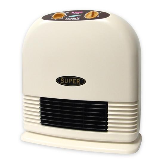 圖片 【嘉麗寶】定時型陶瓷電暖器 SN-869T