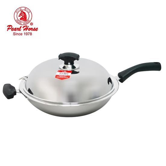 不鏽鋼 炒鍋
