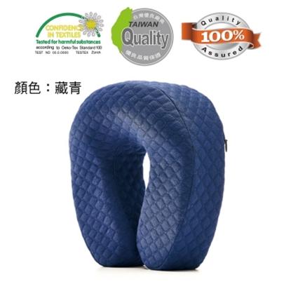 圖片 【關愛天使】人體工學高密度頸枕-MF-NP-09B-藏青色 (午睡枕/防蹣/抗菌/台灣製造)