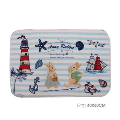 圖片 【安妮兔】珊瑚絨趣味地毯 087Y-127(買一送一)