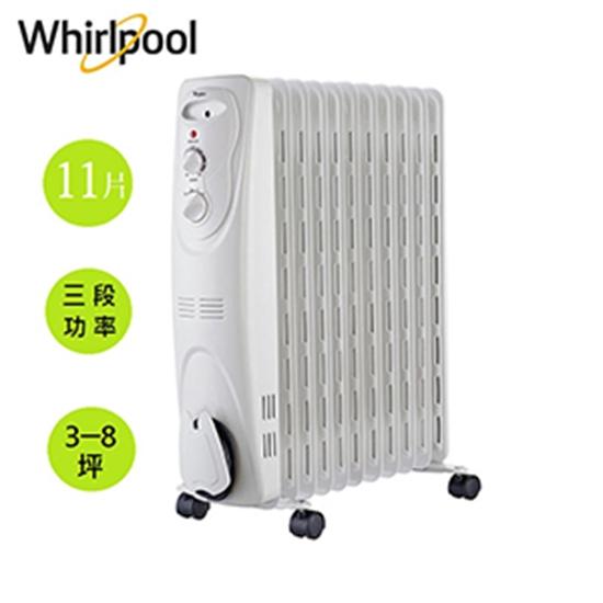 圖片 Whirlpool惠而浦 11片葉片機械式電暖器 WORM11AW