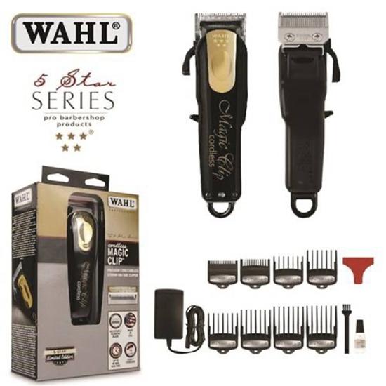 圖片 美國WAHL 華爾 五星電推剪 黑金限定版WAHL-8148