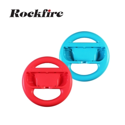 圖片 Rockfire Switch Joy-Con用方向盤一組2入