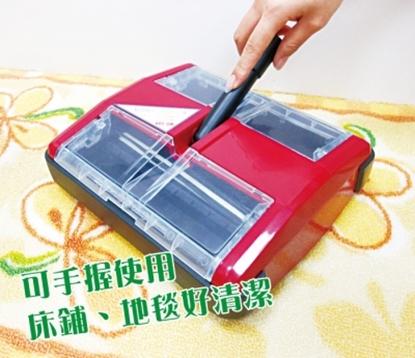 第二代魔特萊免插電環保吸塵器MS-888 (升級1.5M鋁桿) 掃地機 手握吸塵 適合布沙發床舖床單 磁磚 原木地板 榻榻米 多種地板材質