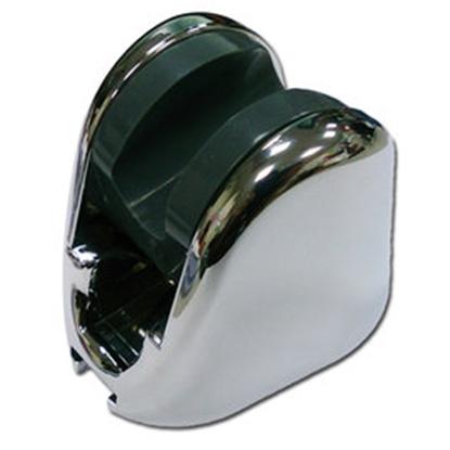 圖片 《魔特萊》免鑽孔專利10段可調角度掛座〈銀〉/蓮蓬頭掛勾(2入)只需沿用舊孔即可輕易安裝