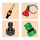 魔特萊透明加壓水槍配件包(4件式)-外銷德國熱銷款-配合家中水管使用-含蓮蓬頭水管轉接頭-清潔洗車澆花