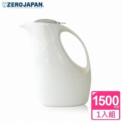 圖片 【ZERO JAPAN】企鵝冷熱陶瓷壺(白)1500CC