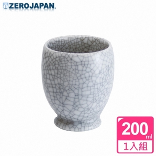 圖片 【ZERO JAPAN】冰裂之星杯(白瓷)200CC
