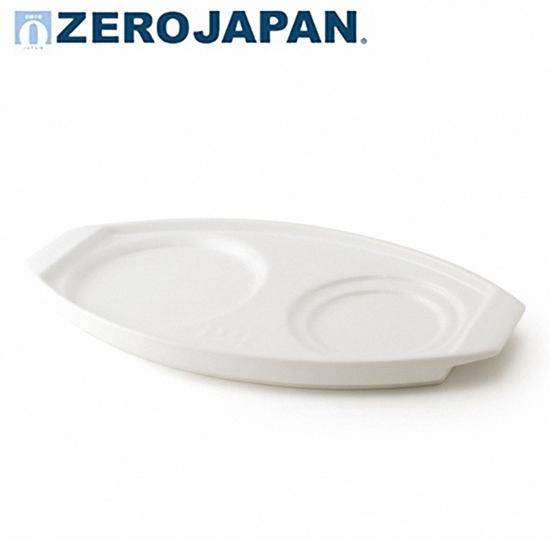 圖片 【ZERO JAPAN】陶瓷典雅造型托盤(白色)