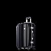 圖片 【PROBEETLE】絕美亮面PC細鋁框行李箱 25吋<鑽石黑>9Q1