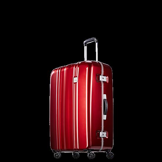 圖片 【PROBEETLE】絕美亮面PC細鋁框行李箱 29吋<亮銀河紅>9Q1-電