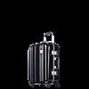 圖片 【PROBEETLE】絕美亮面PC細鋁框行李箱 20吋<鑽石黑>9Q1-電