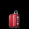 【PROBEETLE】絕美亮面PC細鋁框行李箱 20吋<亮銀河紅>9Q1