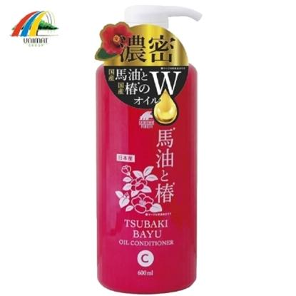 圖片 【TSUBAKI】馬油+茶油保濕潤濕精 600ml