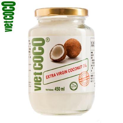 圖片 【Vietcoco】威椰特級冷壓椰子油 450ml
