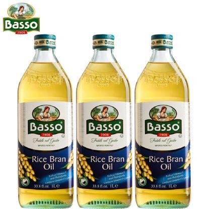 【Basso】巴碩義大利玄米油 1,000ml x3入