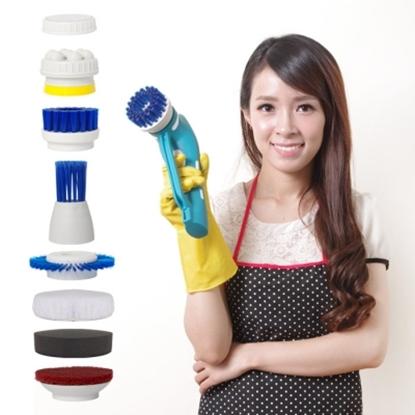 圖片 【YOTO 悠樂】攜帶式一機多用防水清潔機/打蠟機/去角質按摩機(ZY1392)