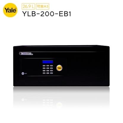 圖片 【耶魯 YALE】通用系列數位電子保險箱/櫃_桌上電腦型(YLB-200-EB1)