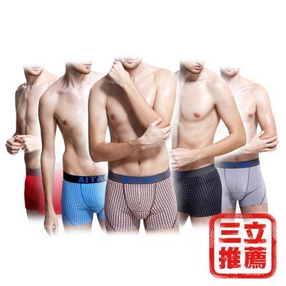 圖片 【ZONE】AITAO 莫代爾3D機能透氣囊袋內褲(5入)-電
