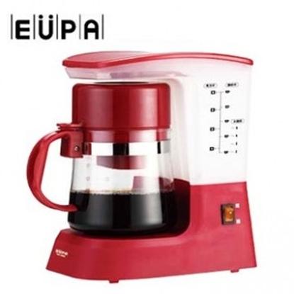 圖片 【優柏】多功能coffee茗茶咖啡機TSK-1948A(紅色)