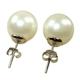 【小樂珠寶】珍珠代表高貴典雅的象徵 頂級3A正圓漂亮南洋彩貝珍珠耳環