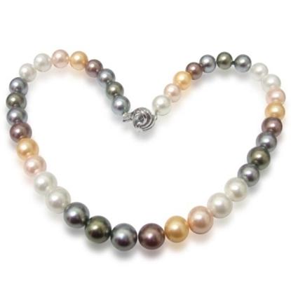 圖片 【小樂珠寶】,3A全美漂亮南洋深海貝珍珠項鍊