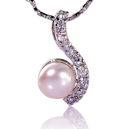 圖片 【小樂珠寶】持久不變質變色很易保養,3A正圓全美南洋深海貝珍珠墬鍊項鍊