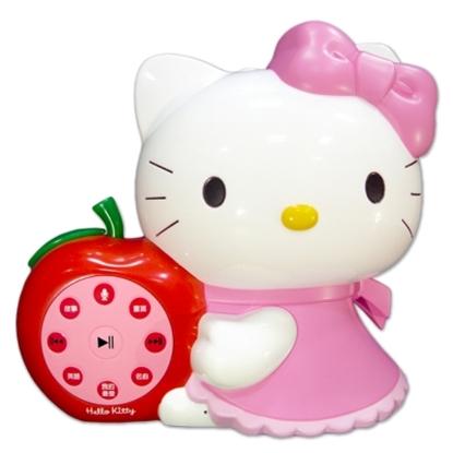 圖片 台灣製造HELLO KITTY 凱蒂貓幼兒啟蒙教育故事機優惠組(粉紅)