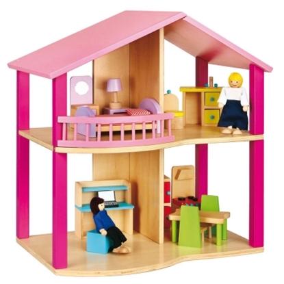 圖片 木製夢想娃娃小屋