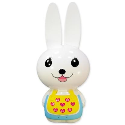 第二代【芽比兔YEP2】幼兒啟蒙教育故事機超值組(粉藍)