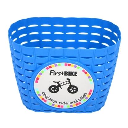 圖片 【FirstBike】 兒童滑步車/學步車 原廠車前小籃子(藍)