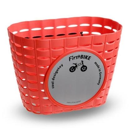 圖片 【FirstBike】 兒童滑步車/學步車 原廠車前小籃子(紅)