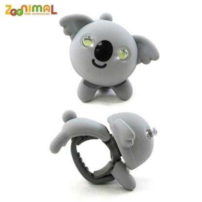 圖片 【ZOONIMAL】STORY 動物自行車燈用LED白光前燈-Koala卡洛熊/無尾熊