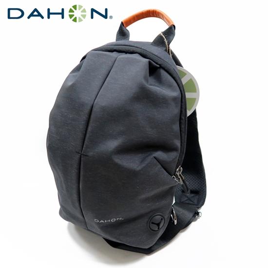 圖片 DAHON大行 Fashion Sling Bag時尚運動背包-黑灰