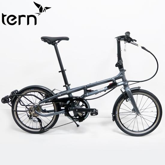 圖片 Tern 2019BYB P8 20吋8速可推行/拖行鋁合金摺疊單車-銀灰藍