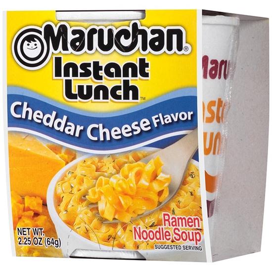 圖片 【美國maruchan】好小子杯麵系列-巧達起司風味x12包/箱