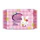 【康乃馨】康乃馨寶寶潔膚濕巾補充包(兔子)80抽x8包/組