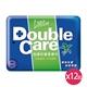 康乃馨Double Care抗菌濕巾外出型20抽x12包