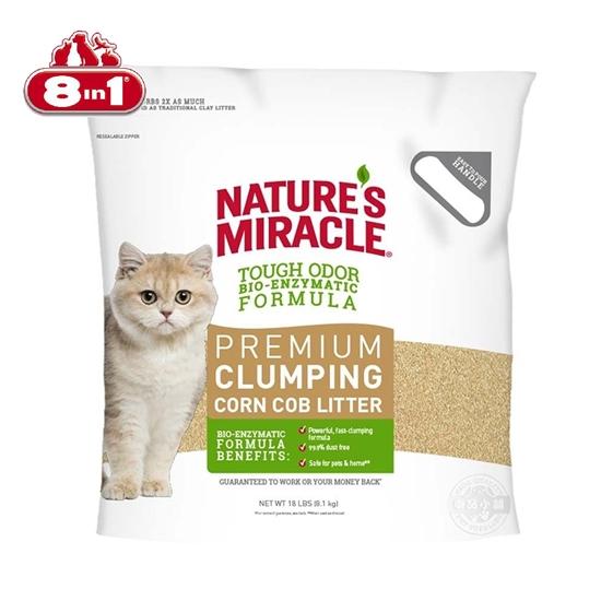 圖片 8in1自然奇蹟-酵素環保玉米貓砂/10LBS