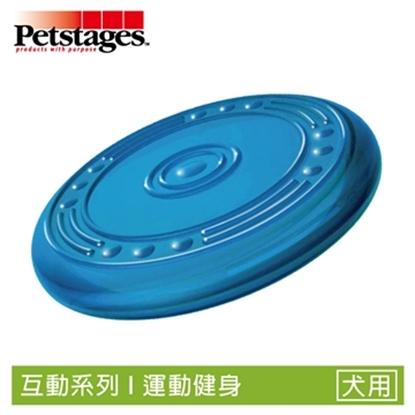 《美國 Petstages》231 ORKA歐卡耐咬飛盤(大) 寵物犬狗 磨牙 跑跳 互動玩具
