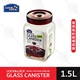 LOCK&LOCK 樂扣樂扣《單向排氣閥玻璃密封罐》1.5L 保鮮 收納罐 適用醃漬食品 LLG552