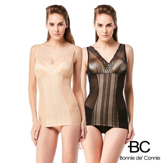 圖片 【法國BC】時尚美型鍺塑身衣二件組(鍺纖塑衣)-電