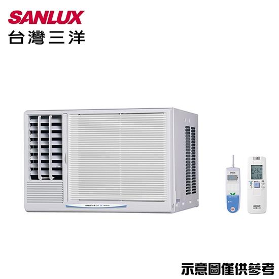 好禮送【SANLUX三洋】6-8坪窗型左吹變頻冷氣SA-L41VE1