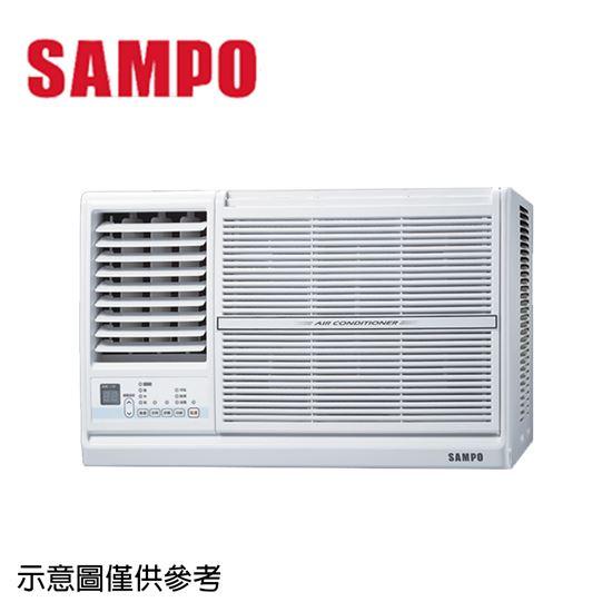 圖片 【SAMPO聲寶】3-5坪定頻左吹窗型冷氣AW-PC122L