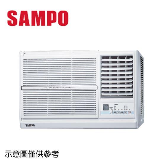 圖片 【SAMPO聲寶】8-10坪定頻右吹窗型冷氣AW-PC63R
