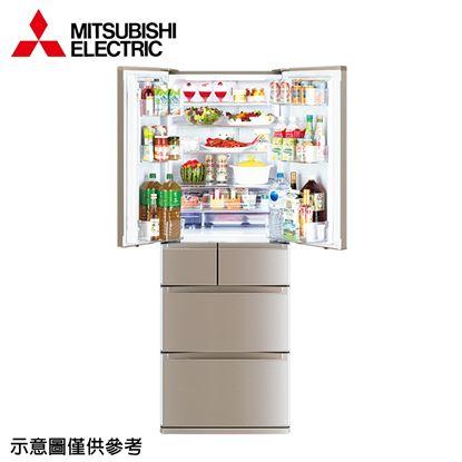 圖片 【結帳享優惠】【MITSUBISHI 三菱】525公升日本原裝變頻六門冰箱MR-JX53C