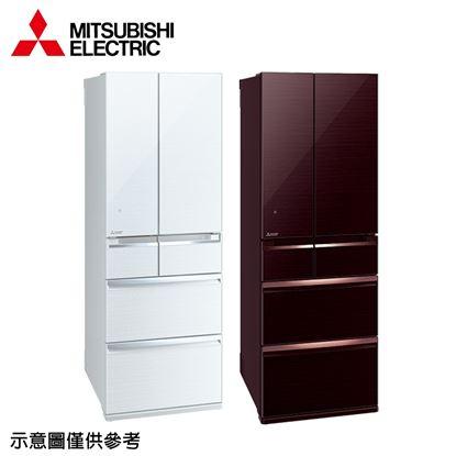 圖片 【結帳享優惠】【MITSUBISHI 三菱】525公升日本原裝變頻六門冰箱MR-WX53C